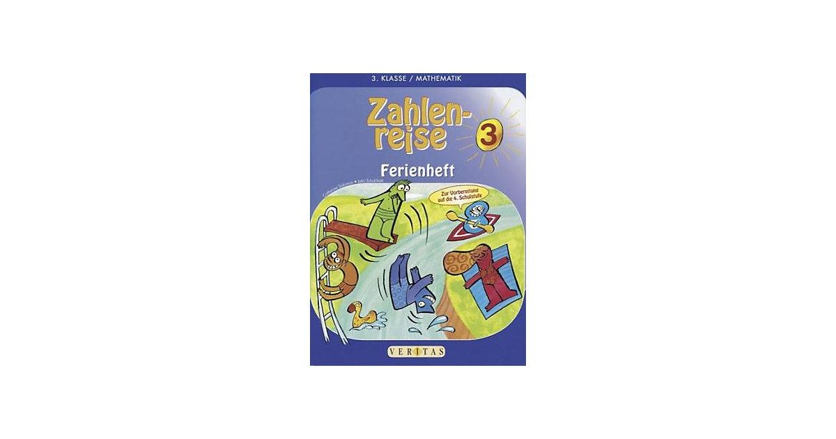 Buch - Zahlenreise Ferienheft: 3. Klasse