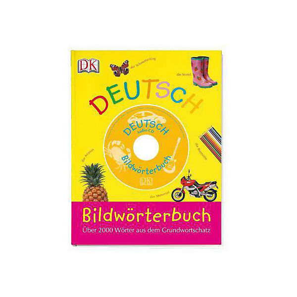 Bildwörterbuch Deutsch, m. Audio-CD
