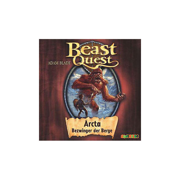 Beast Quest: Arcta, Bezwinger der Berge, Audio-CD