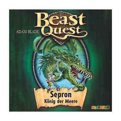 Beast Quest: Sepron, König der Meere, Audio-CD