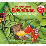 Der kleine Drache Kokosnuss und der Schatz im Dschungel, 1 Audio-CD