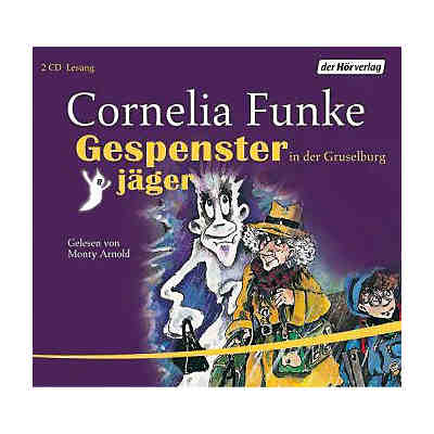 Gespensterjäger in der Gruselburg, 2 Audio-CDs