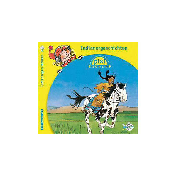 Pixi hören: Indianergeschichten, 1 Audio-CD