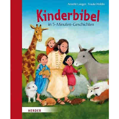 Kinderbibel in 5-Minuten Geschichten