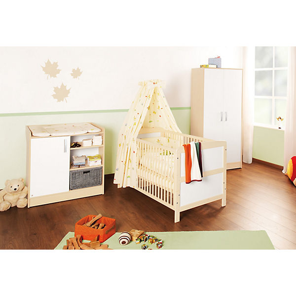 komplett kinderzimmer florian 3 tlg kinderbett. Black Bedroom Furniture Sets. Home Design Ideas