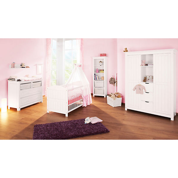wandregal nina massiv wei lasiert pinolino mytoys. Black Bedroom Furniture Sets. Home Design Ideas