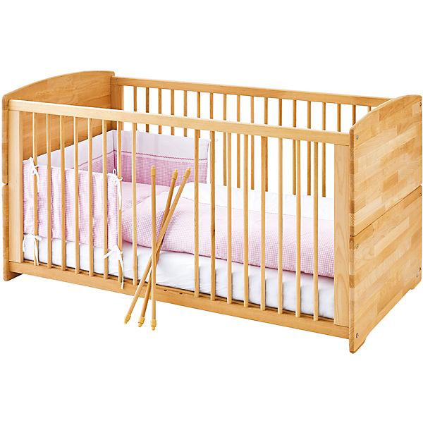 kinderbett ole buche massiv ge lt 70 x 140 cm pinolino mytoys. Black Bedroom Furniture Sets. Home Design Ideas