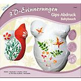 3D-Erinnerungen Abdruckset Babybauch, inkl. Farben