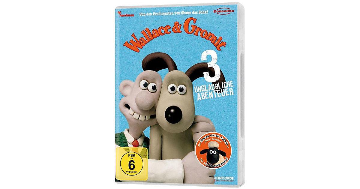 DVD Wallace & Gromit - 3 unglaubliche Abenteuer