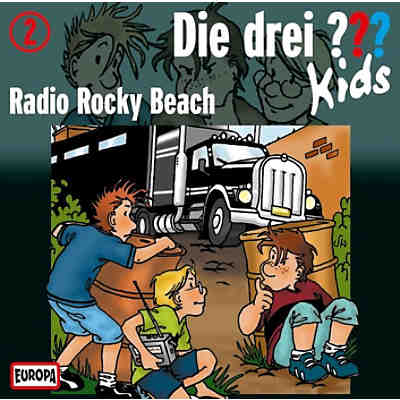 CD Die drei ??? Kids 02 - Radio Rocky Beach