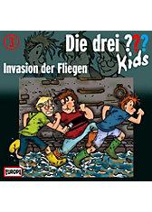 CD Die drei ??? Kids 03 - Invasion der Fliegen