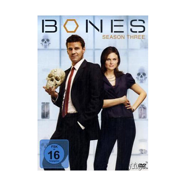 DVD Bones, Die Knochenjägerin Season 3, 4 DVD-Videos