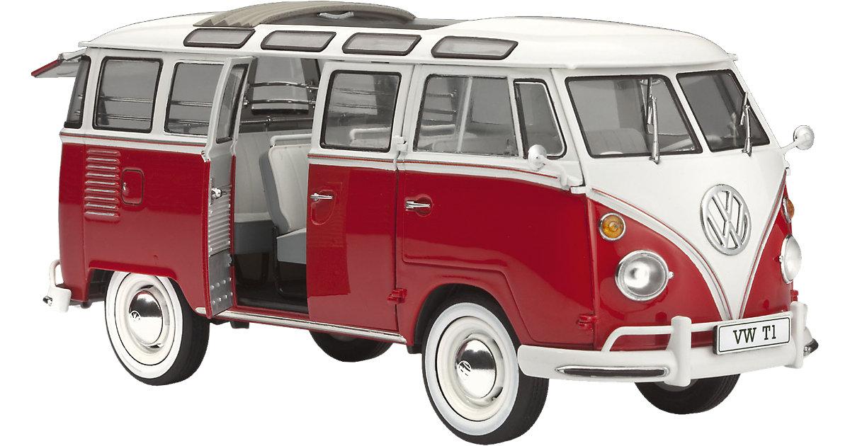 Modellbausatz VW T1 Samba Bus Maßstab 1:24