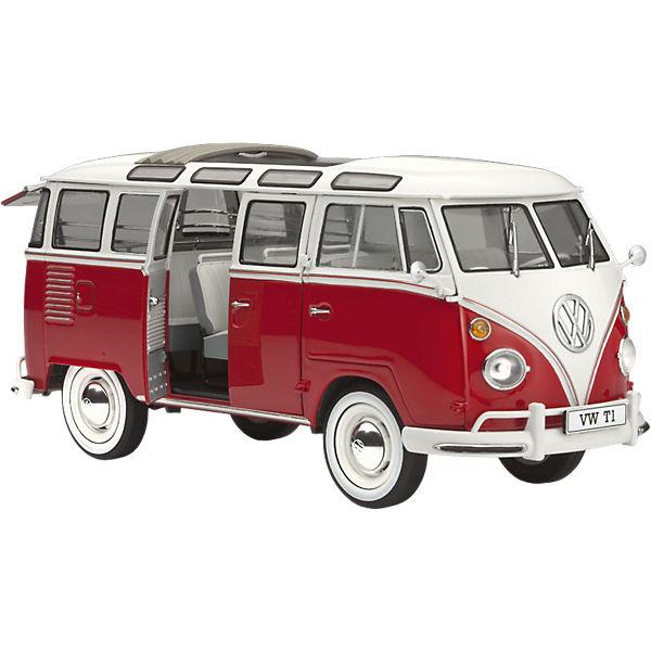 revell modellbausatz vw t1 samba bus ma stab 1 24 revell. Black Bedroom Furniture Sets. Home Design Ideas