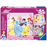 Disney Princess: Snow White - 3 x 49 Piece Jigsaw Puzzle