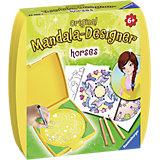 mini Mandala-Designer: horses