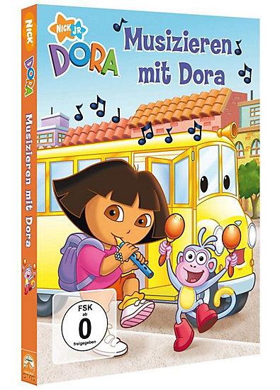 DVD Dora Musical School Days