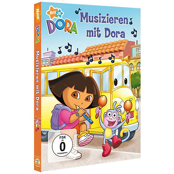 DVD Dora Musical School Days