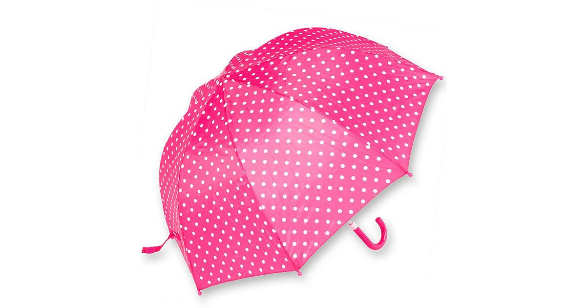 Kinder Regenschirm Punkte pink