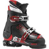 ROCES Skischuhe IDEA Gr.30-35 größenverstellbar, schwarz
