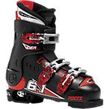 ROCES Skischuhe IDEA Gr.36-40 größenverstellbar, schwarz