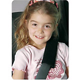 Seat Belt Pad, Black