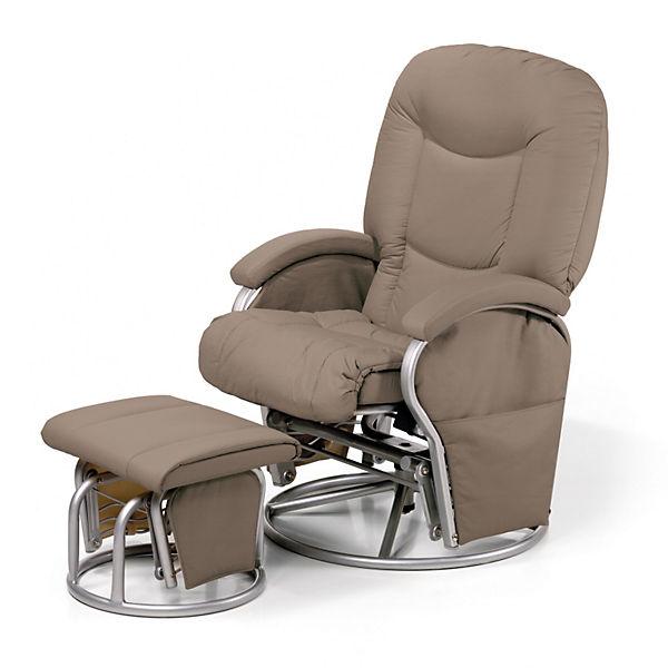 still und entspannungsstuhl metal glider recline mit. Black Bedroom Furniture Sets. Home Design Ideas