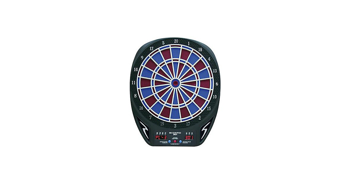 Dart Board SCORPIO 301 black