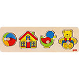 Wooden Puzzle, 4 Pieces