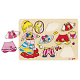 Dress-Up Puzzle, Princess