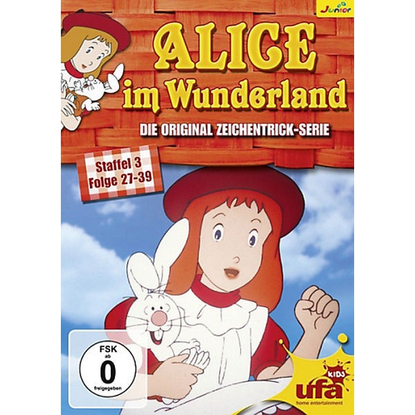 DVD Alice im Wunderland - Season 3