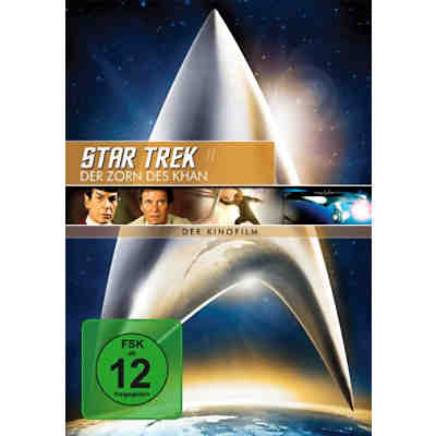 DVD Star Trek 2 - Zorn des Khan - Remastered