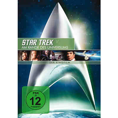 DVD Star Trek 5 - Am Rande des Universums - Remastered