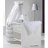 Kinderbett ECO STRIPE, weiß, 70 x 140 cm