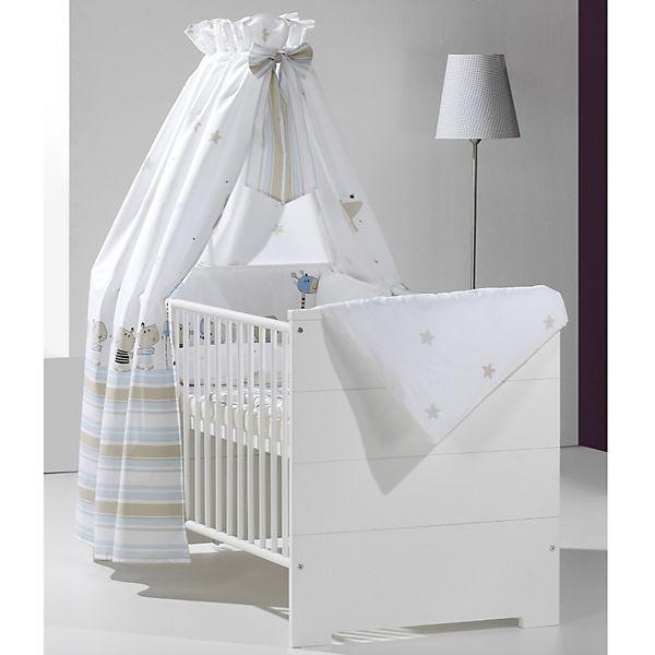 kinderbett eco stripe wei 70 x 140 cm schardt mytoys. Black Bedroom Furniture Sets. Home Design Ideas