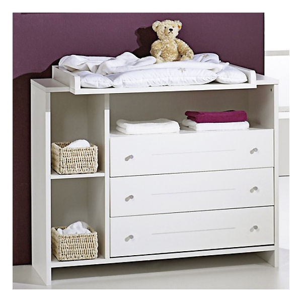 komplett kinderzimmer eco stripe 3 tlg kinderbett wickelkommode und 2 t riger kleiderschrank. Black Bedroom Furniture Sets. Home Design Ideas