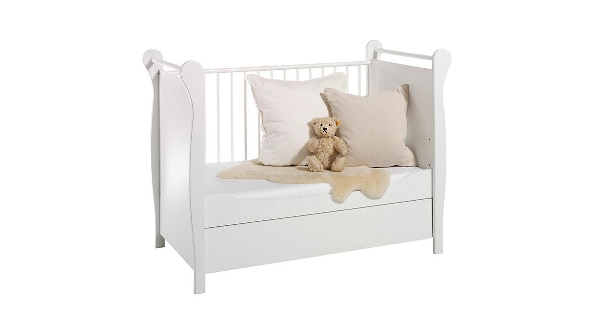 Kinderbett FELICE, weiß, 60 x 120 cm