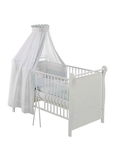 Kinderbett FELICE, weiß, 70 x 140 cm