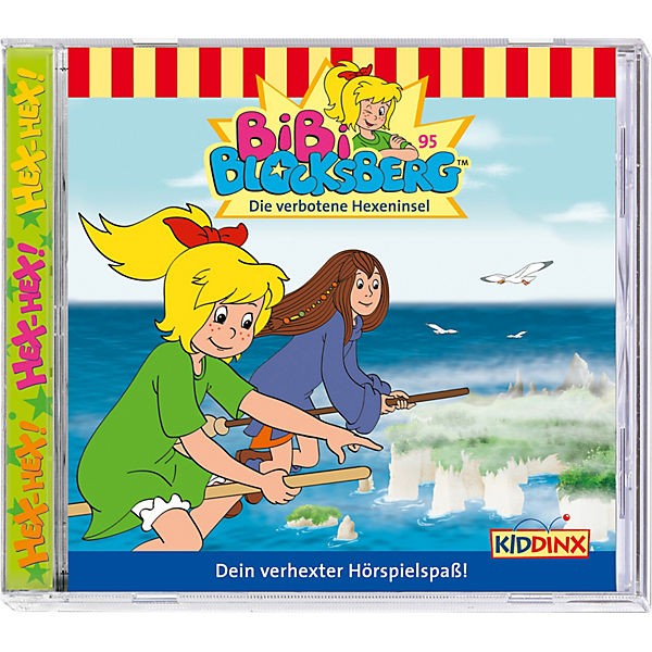 CD Bibi Blocksberg 95 - Die verbotene Hexeninsel