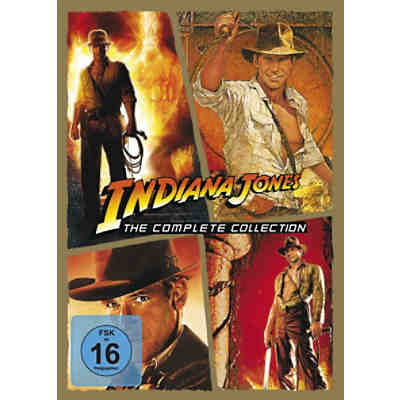 DVD Indiana Jones - The Complete Collection