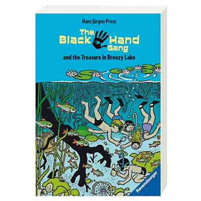 The Black Hand Gang and the Treasure in Breezy Lake, engl. Ausgabe