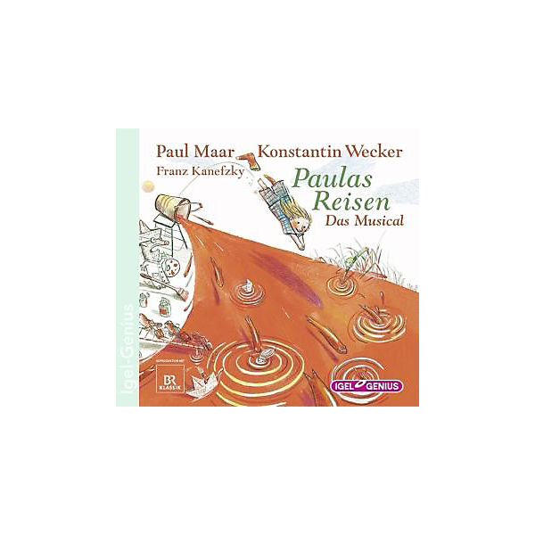 Paulas Reisen - Das Musical, Audio-CD
