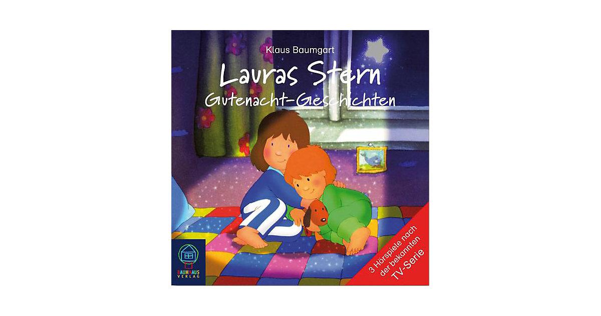 Lauras Stern: Lauras Stern-Gutenacht-Geschichten, 1 Audio-CD Hörbuch
