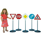 klein Traffic Sign Set 1, 5 Pieces