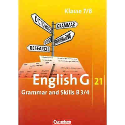 English G 21, Ausgabe B: 7./8. Schuljahr, Grammar and Skills