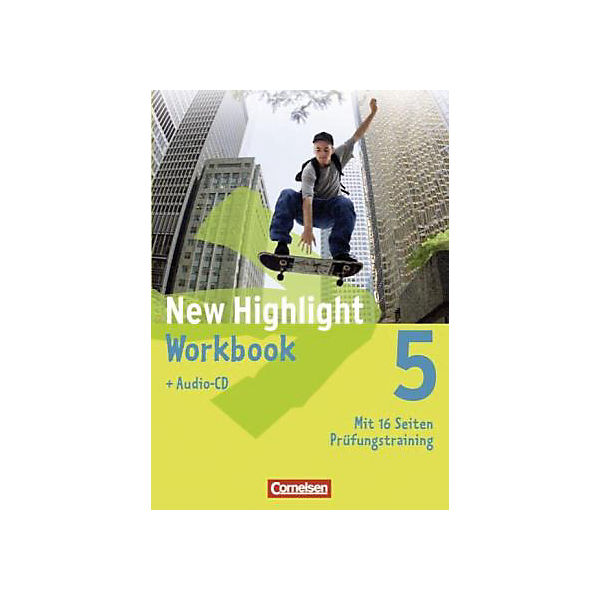 New Highlight, Hauptschule: 9. Schuljahr, Workbook m. Audio-CD