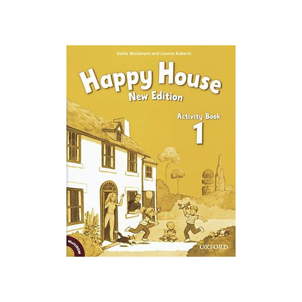 Happy House, New Edition: Activity Book, w. CD-ROM/-Audio