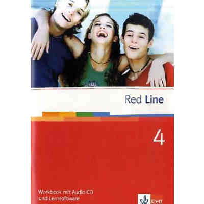 Red Line: Klasse 8, Workbook m. Audio-CD u. CD-ROM
