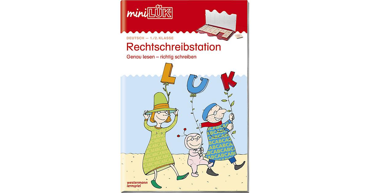 Buch - mini LÜK: Rechtschreib-Station 1./2. Klasse, Übungsheft