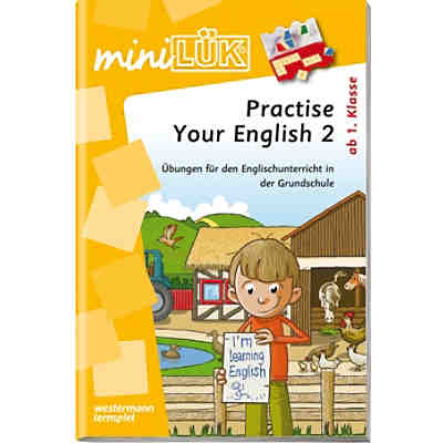 mini LÜK: Practise Your English!, Übungsheft